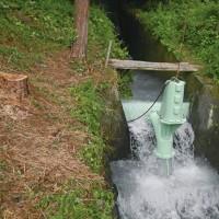 コラボレーション。富士宮の相反転方式小水力発電機によるプロジェクトの広がり