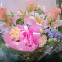 誕生日☆お花が届きました♪