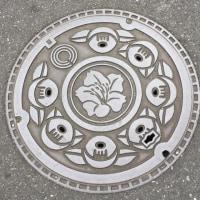 川崎のマンホールの蓋