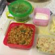 お弁当作りの日々