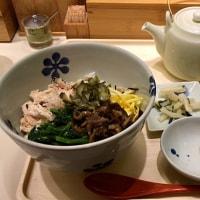 奄美大島 鶏飯風だし茶漬けを頂きました。 at だし茶漬け えん ウィング新橋店