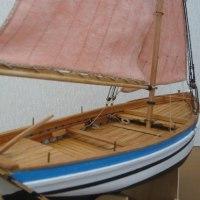 帆船模型作り(スループ)