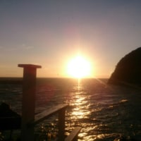 逗子の夕日