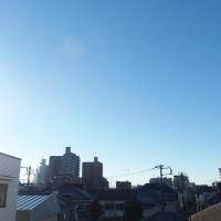 今朝(12月8日)の東京のお天気:晴れ