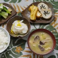 長崎の「五島巻 えそ」を焼いて朝定食と弁当にする朝