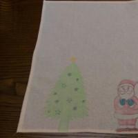 クリスマスのランチョンマット