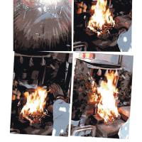 ゼロ磁場 西日本一 氣パワー・開運引き寄せスポット 1月1日のお護摩の炎(1月11日)