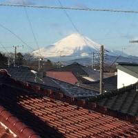 書き初めは…文字アートと富士山