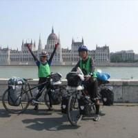 講演会「カミさんと走った500日 世界自転車の旅」