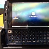 F-07CにUbuntu MATE 16.04 LTS(Linux)をインストールしてみました。