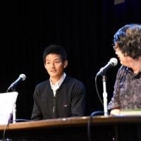 安英学選手と李漢宰選手のトークショー