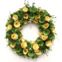 ナチュラルリースを飾って春を先取りしちゃおう♪