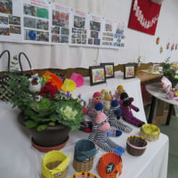 高齢者・身障者 第八回手作り作品展示会
