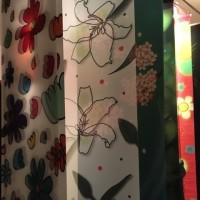 Yorie&Hatsue Exhibition「IROIRO」展 タペストリー&フラワーアート