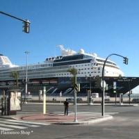 本日の写真 【SPAIN CADIZ vol.5】電車、駅、船、青空市