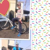 ☆初孫とのサイクリング~!!!☆