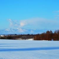 寒い日には山がよく見える