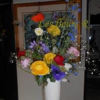 お花はやっぱり素敵!!