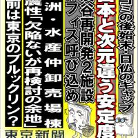 今日の東京新聞