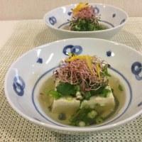 薬味湯豆腐