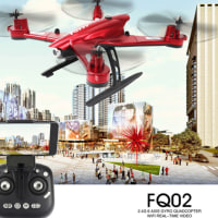 5%off-FQ777 FQ02W Wifi FPV 0.5MP カメラ付 折り畳み式 アーム 高度ホールド ヘッドレス モード RC クアッドコプター RTF