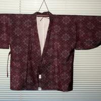 大島の羽織から作務衣