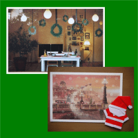 主人の残した【サンタクロース】の折り紙