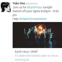 EARTH HOUR 2017(3.25 8:30~9:30PM)