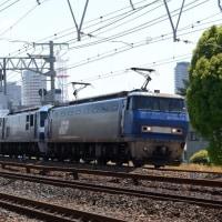 今日の2077レは EF200牽引ムド(EF210)付き