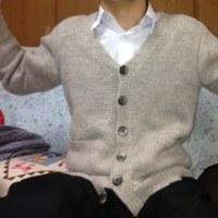 今冬の編物 その3