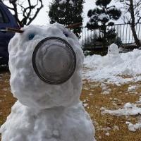 雪の庭にて
