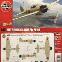 本日の到着キット(2017-33)「エアフィックス1/72 三菱A6M2b 零式艦上戦闘機」
