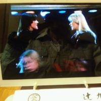 ABBAを観ながら一杯です。