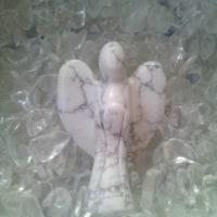 天然石の天使