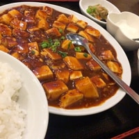 麻婆豆腐定食を頂きました。 at 中国家常菜 同心房 赤羽店