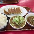 みんな大好き もつ煮・ぎょうざ定食 (´▽`)