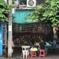 2日目のバンコク市内。なんか絵になる景色でした。
