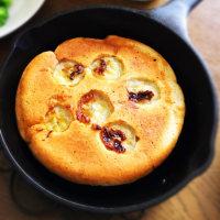 朝ご飯は、バナナパンケーキ