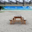 『タチヒビーチ』にはきれいな白い砂浜が…!