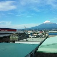 冬の東海道新幹線は北側窓寄りが良い