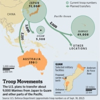 グアムへの米海兵隊移転計画に障害(WSJ.com)