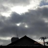 目のある雲
