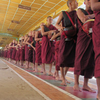 ミヤンマー チャッカワイン僧院 2