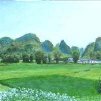 187 中國田園風景 ②