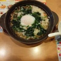 ガストのミートドリア&温玉きのこ雑炊 (*^▽^*)
