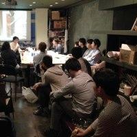 オーウェンとの座談会@Lab-Cafe