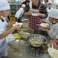 大豆の変身(3年生豆腐作り)