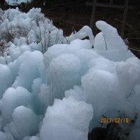 寒い季節の氷柱めぐり