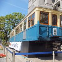 大阪市営地下鉄開業80周年旧100形車両(指定有形文化財)展示