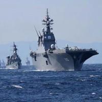 大ニュースです。本日14日より日本の『神の盾』海上自衛隊イージス護衛艦 「きりしま」 が日米韓の合同軍事演習のために出航しました。